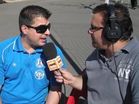 Alberto Prieto, un president que ha vist com Ràdio Sant Feliu torna a retransmetre els partits del Santfe.