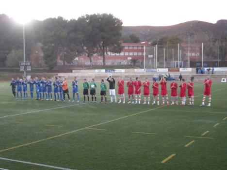 A Can Vinader, el Santfeliuenc va perdre de manera injusta per 2 a 1.