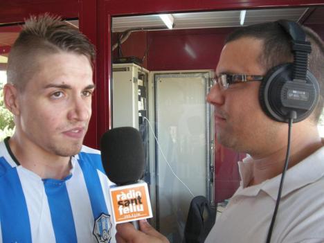 Tant de bo Joaquín Rivas pugui cantar un gol tan màgic com el de Jairo a Ascó.