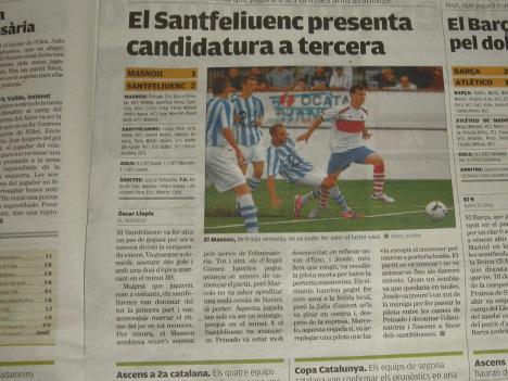 Per al 9 Esportiu el Santfe presenta candidatura a Tercera.