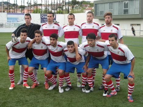 El CD Masnou, el último en subirse al tren de Tercera 2013-2014.