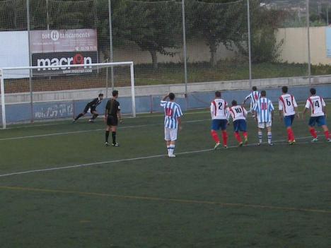 Aquest gol dÁlex Bolaños ja és història de l'esport santfeliuenc.