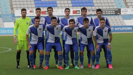 El filial arlequinat buscarà la primera victòria contra un Santfe que està exhibint bon futbol. Foto: @CESabadell