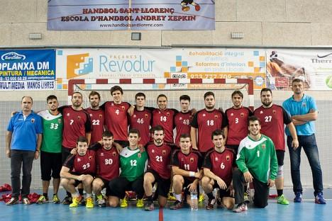 El Sant Llorenç, revelació de l'esport santfeliuenc a l'any 2015. Foto: Jaime PG
