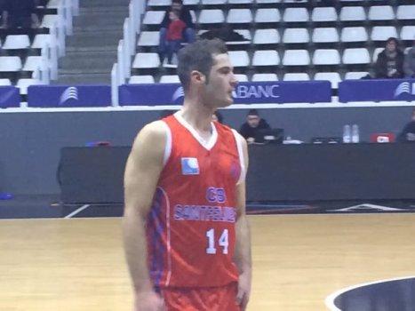 Luis Molina, 2.499 punts amb la samarreta del CBS a la Lliga EBA. Un jugador que està marcant una època al bàsquet de Sant Feliu.