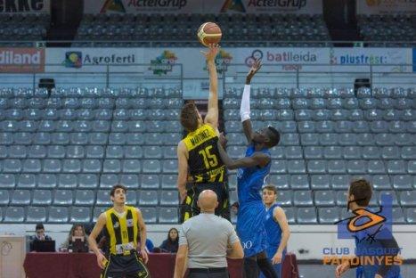 El CB Santfeliuenc va fer a Lleida un pas gairebé definitiu per ser entre els cinc millors del grup, Foto: Club Bàsquet Pardinyes.